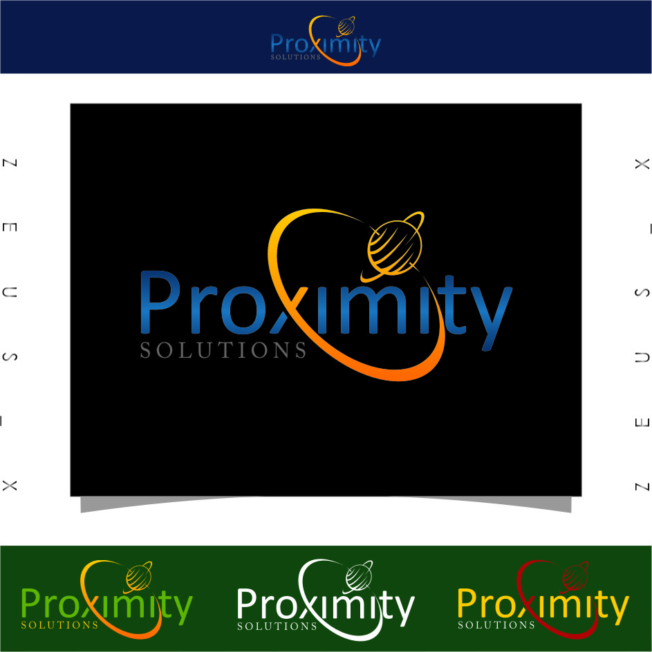 Logo Design by Ngepet_art - Entry No. 106 in the Logo Design Contest New Logo Design for Proximity Solutions.