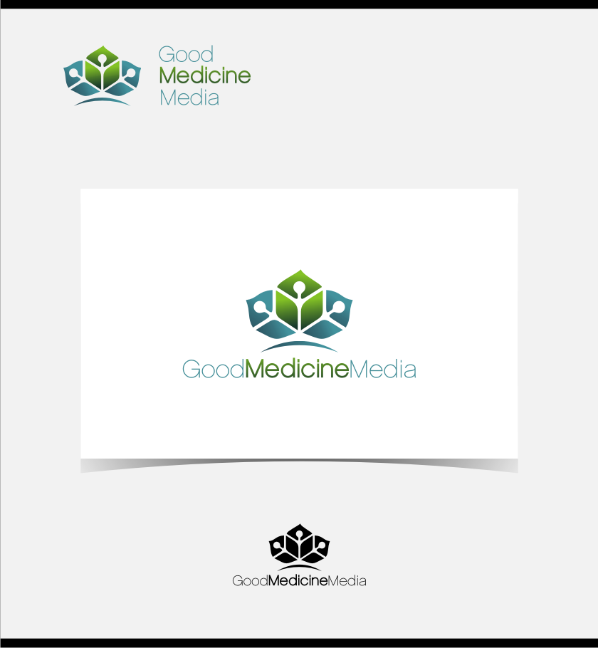 Logo Design by graphicleaf - Entry No. 103 in the Logo Design Contest Good Medicine Media Logo Design.