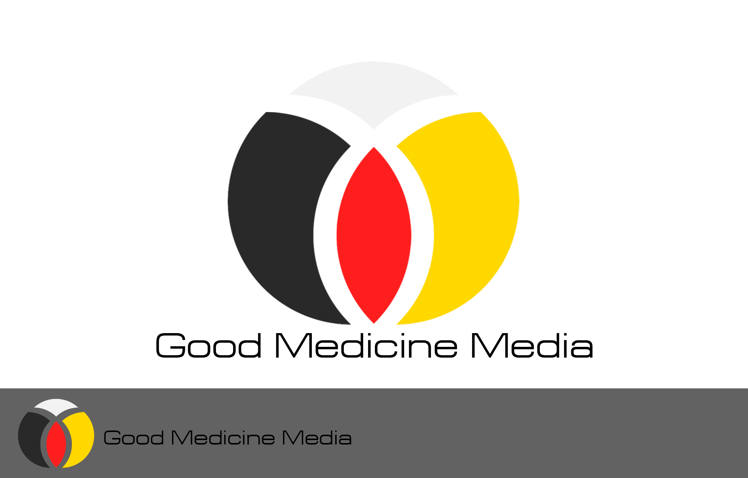 Logo Design by Private User - Entry No. 109 in the Logo Design Contest Good Medicine Media Logo Design.
