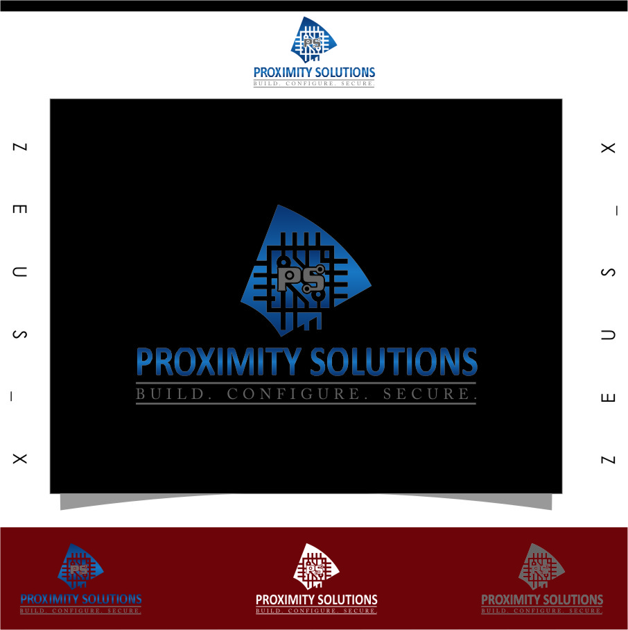 Logo Design by RasYa Muhammad Athaya - Entry No. 107 in the Logo Design Contest New Logo Design for Proximity Solutions.