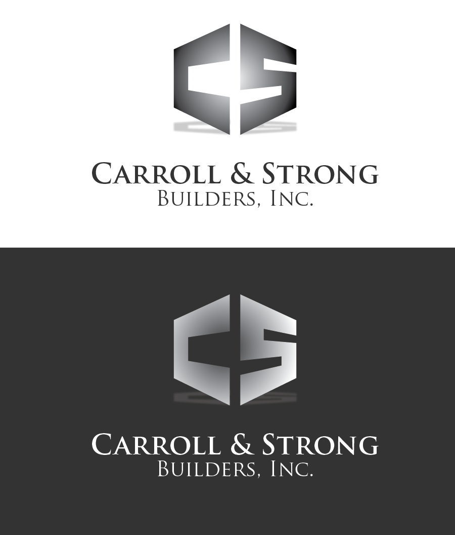 Logo Design by Christina Evans - Entry No. 27 in the Logo Design Contest New Logo Design for Carroll & Strong Builders, Inc..