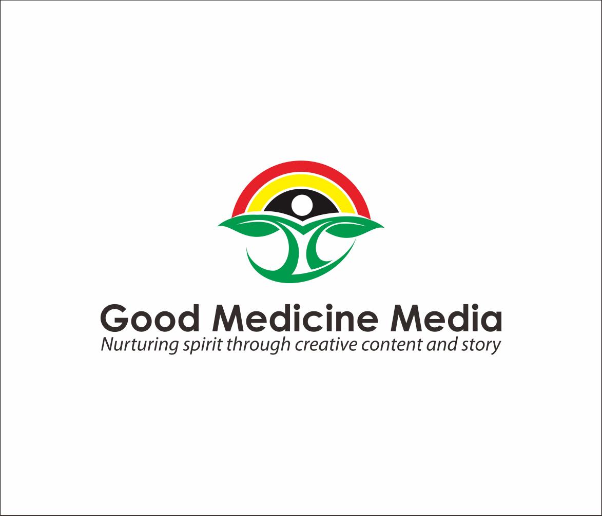 Logo Design by Armada Jamaluddin - Entry No. 112 in the Logo Design Contest Good Medicine Media Logo Design.