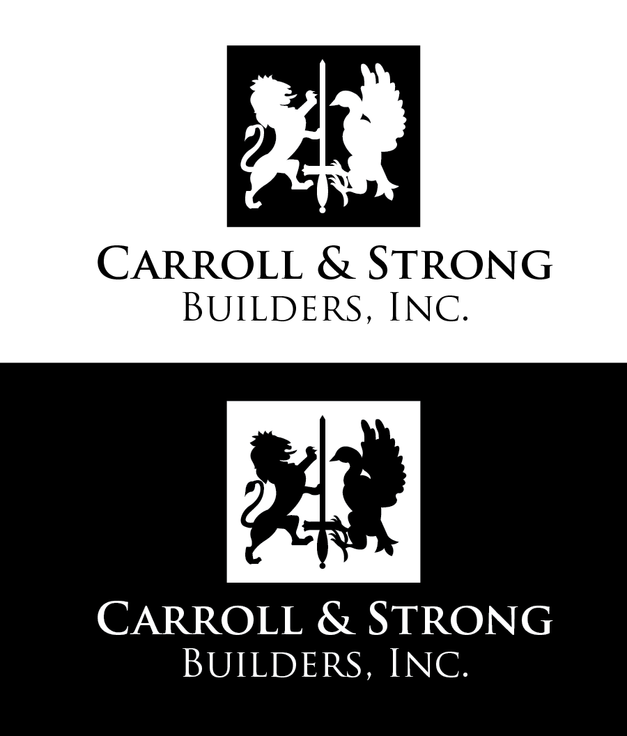 Logo Design by Christina Evans - Entry No. 28 in the Logo Design Contest New Logo Design for Carroll & Strong Builders, Inc..