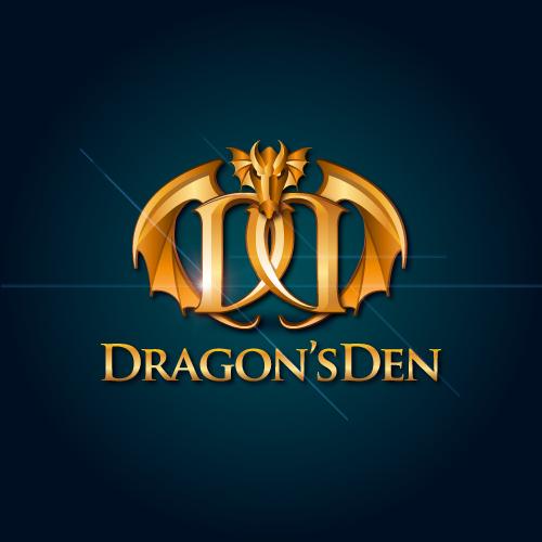 Logo Design by SilverEagle - Entry No. 24 in the Logo Design Contest The Dragons' Den needs a new logo.