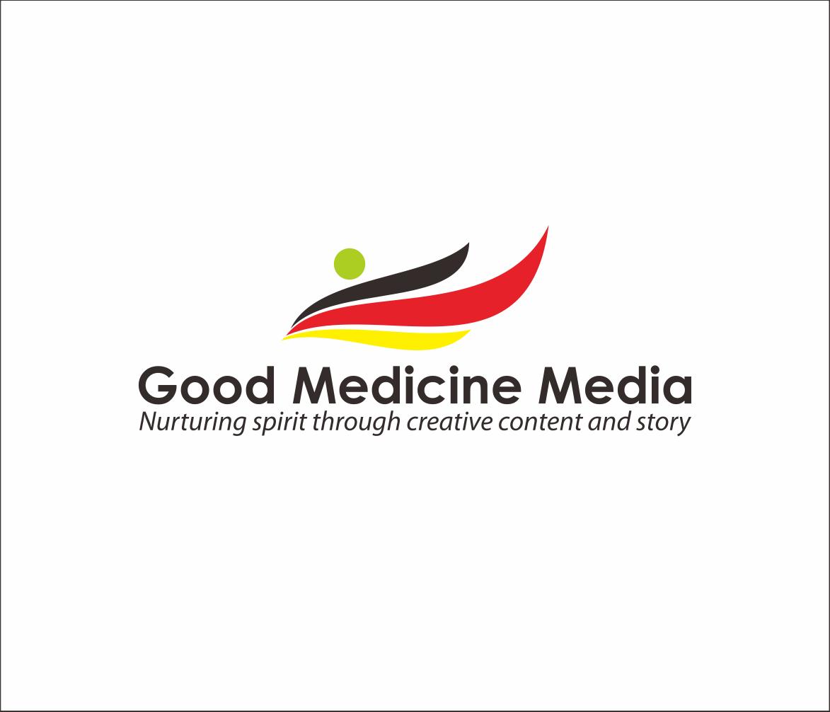 Logo Design by Armada Jamaluddin - Entry No. 114 in the Logo Design Contest Good Medicine Media Logo Design.