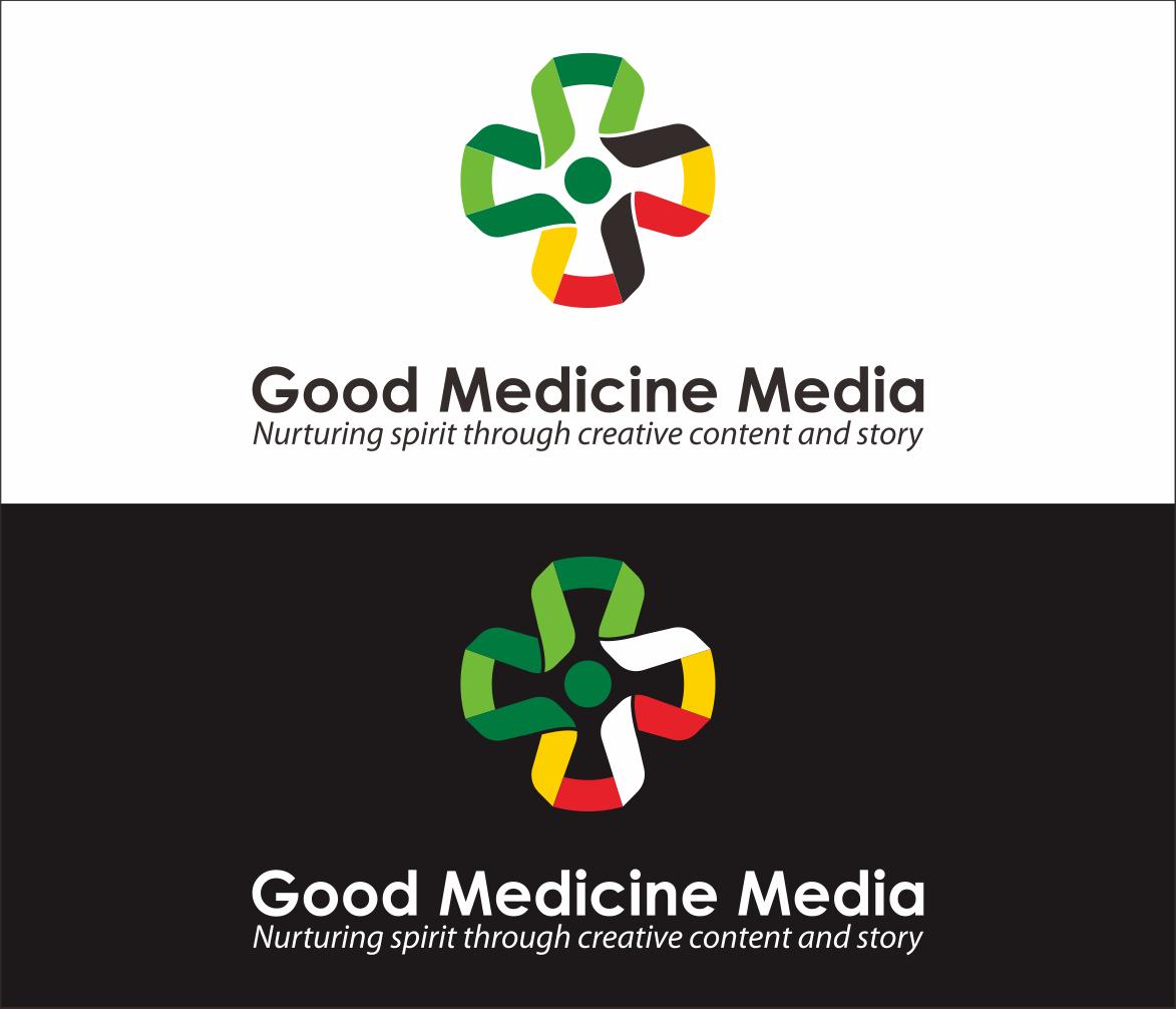 Logo Design by Armada Jamaluddin - Entry No. 115 in the Logo Design Contest Good Medicine Media Logo Design.
