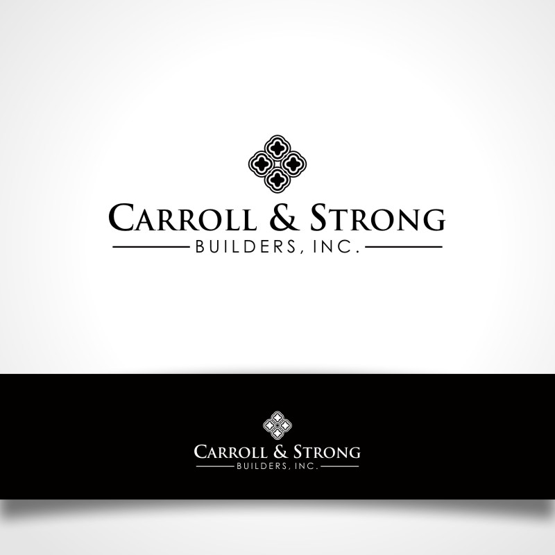 Logo Design by Private User - Entry No. 30 in the Logo Design Contest New Logo Design for Carroll & Strong Builders, Inc..