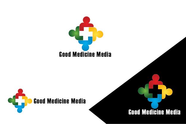 Logo Design by Private User - Entry No. 120 in the Logo Design Contest Good Medicine Media Logo Design.