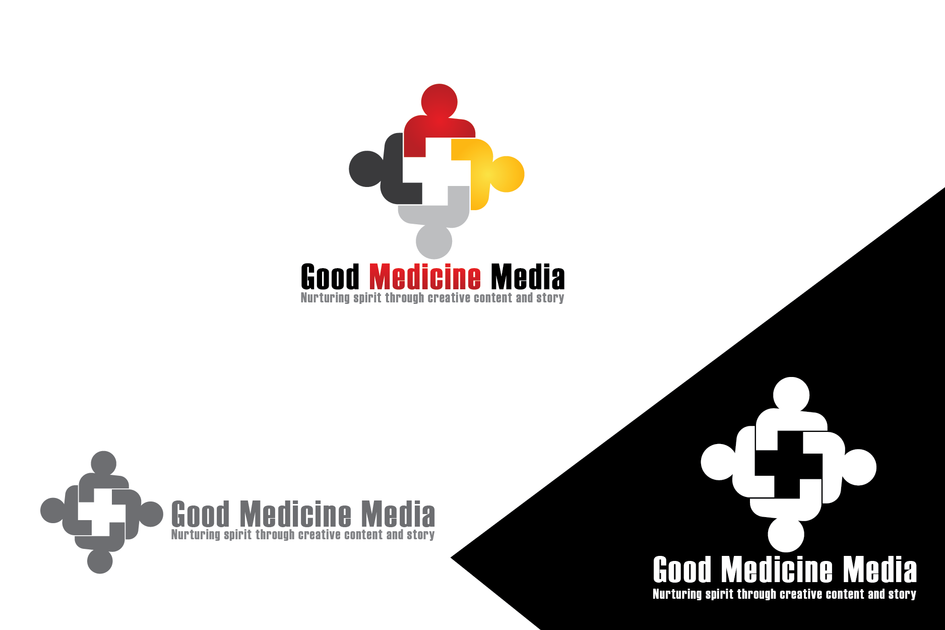 Logo Design by Private User - Entry No. 125 in the Logo Design Contest Good Medicine Media Logo Design.