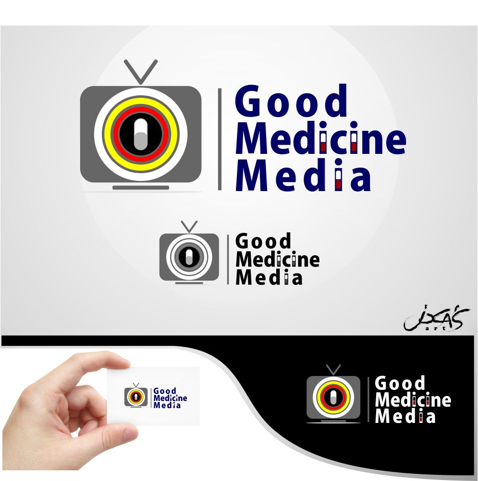 Logo Design by joca - Entry No. 129 in the Logo Design Contest Good Medicine Media Logo Design.