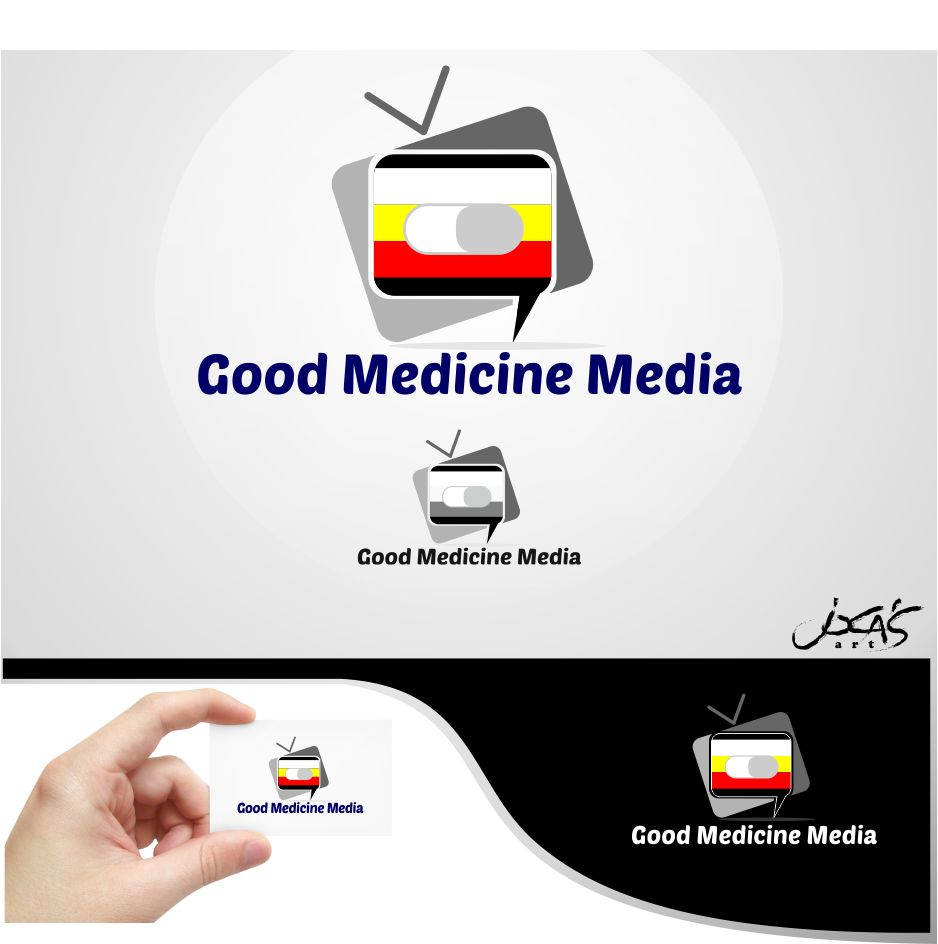 Logo Design by joca - Entry No. 130 in the Logo Design Contest Good Medicine Media Logo Design.
