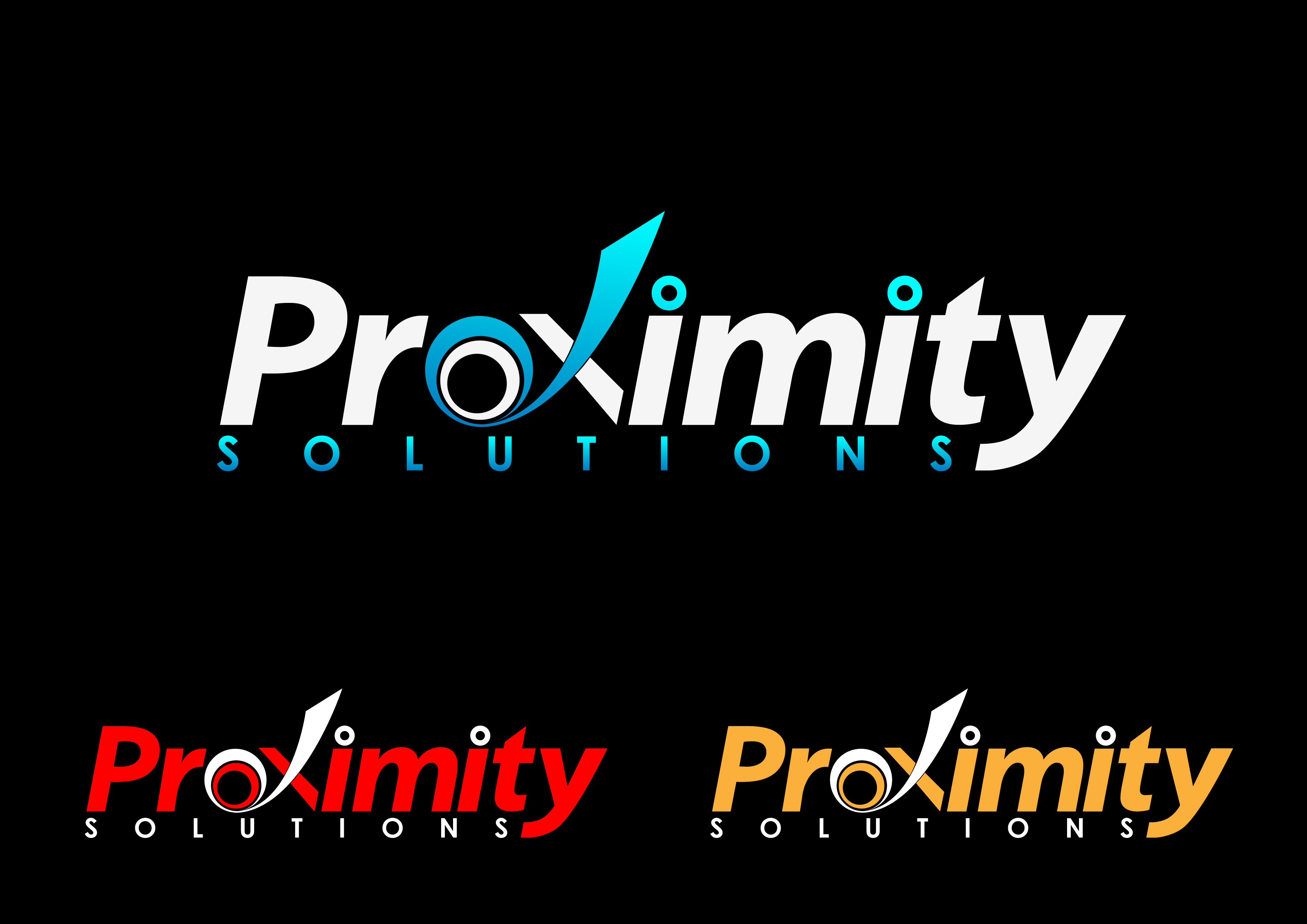 Logo Design by 3draw - Entry No. 109 in the Logo Design Contest New Logo Design for Proximity Solutions.