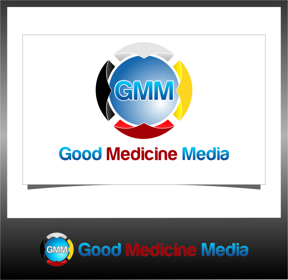 Logo Design by RasYa Muhammad Athaya - Entry No. 131 in the Logo Design Contest Good Medicine Media Logo Design.