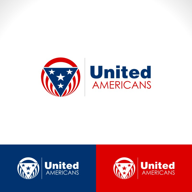Logo Design by Private User - Entry No. 37 in the Logo Design Contest Creative Logo Design for United Americans.