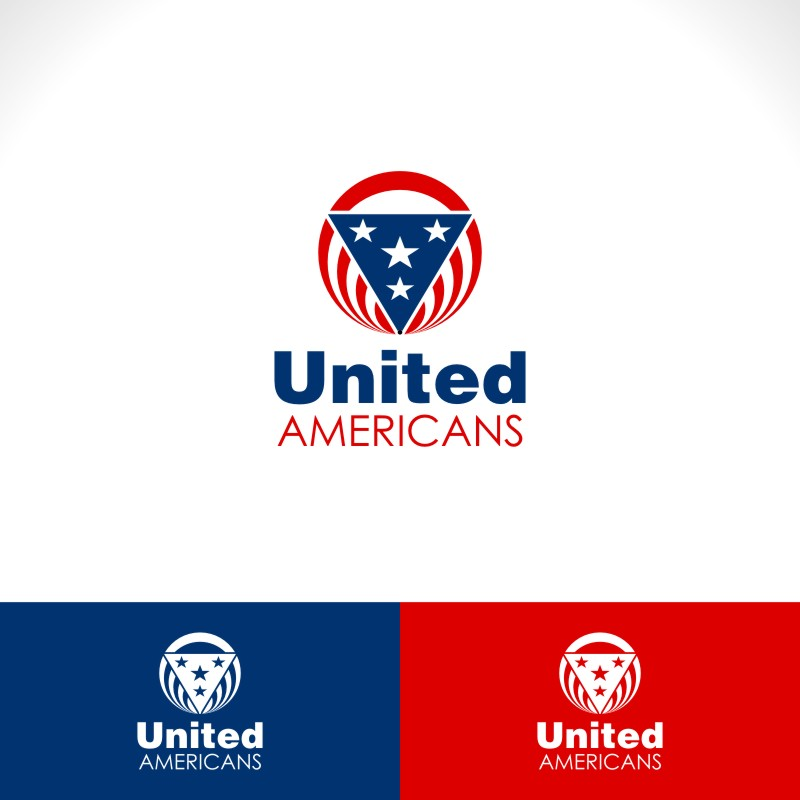 Logo Design by Private User - Entry No. 38 in the Logo Design Contest Creative Logo Design for United Americans.