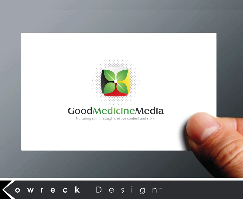 Logo Design by kowreck - Entry No. 133 in the Logo Design Contest Good Medicine Media Logo Design.