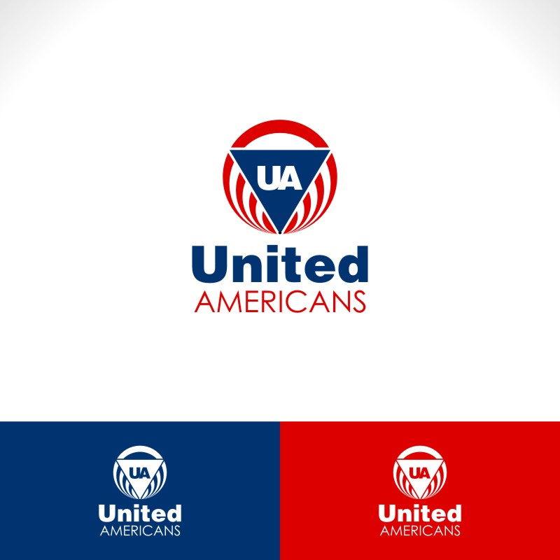Logo Design by Private User - Entry No. 39 in the Logo Design Contest Creative Logo Design for United Americans.