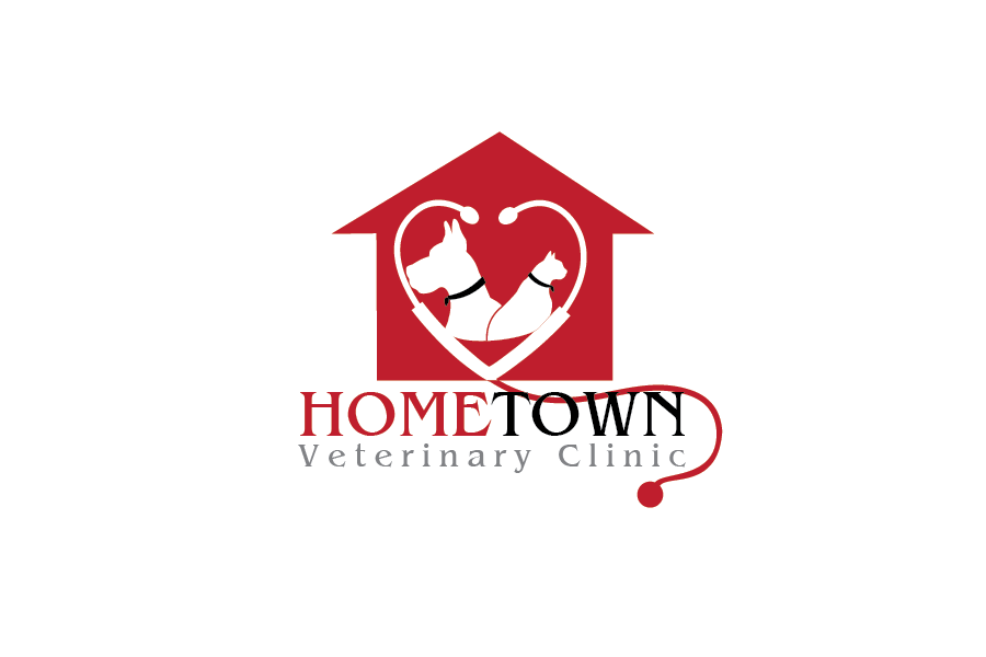 Logo Design by Private User - Entry No. 26 in the Logo Design Contest Captivating Logo Design for Hometown Veterinary Clinic.