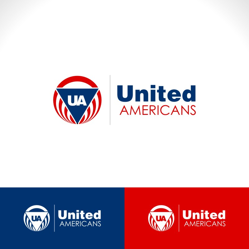Logo Design by Private User - Entry No. 40 in the Logo Design Contest Creative Logo Design for United Americans.