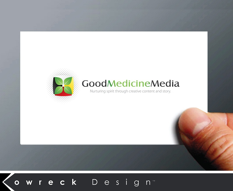 Logo Design by kowreck - Entry No. 134 in the Logo Design Contest Good Medicine Media Logo Design.
