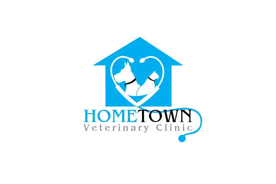 Logo Design by Private User - Entry No. 27 in the Logo Design Contest Captivating Logo Design for Hometown Veterinary Clinic.