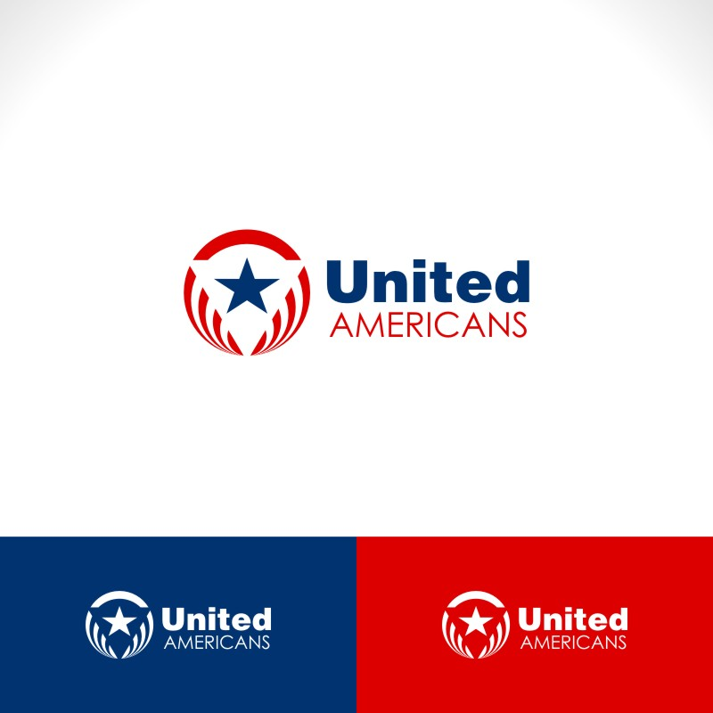 Logo Design by Private User - Entry No. 42 in the Logo Design Contest Creative Logo Design for United Americans.