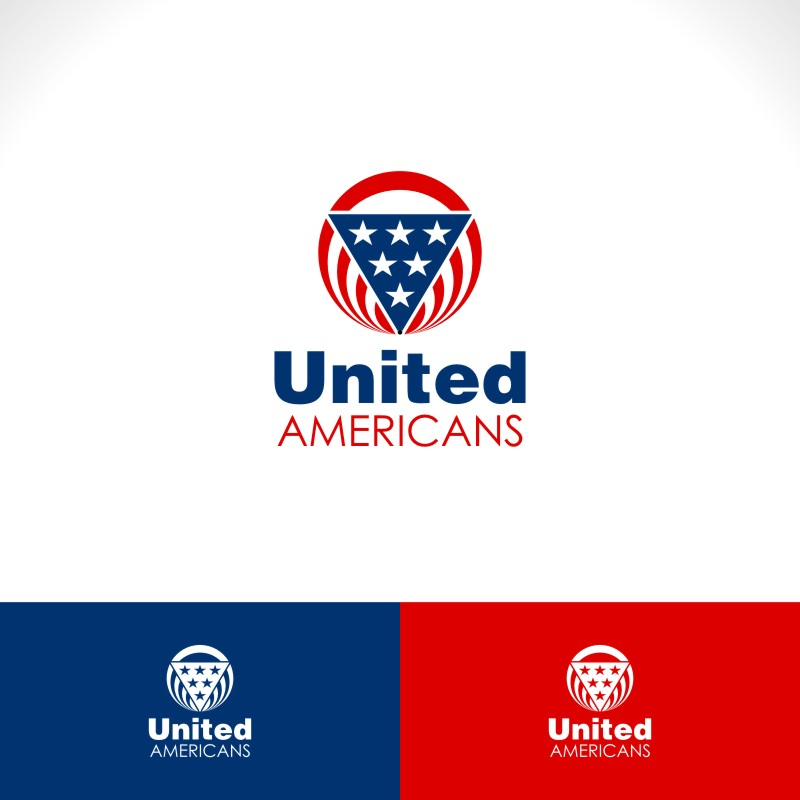 Logo Design by Private User - Entry No. 44 in the Logo Design Contest Creative Logo Design for United Americans.
