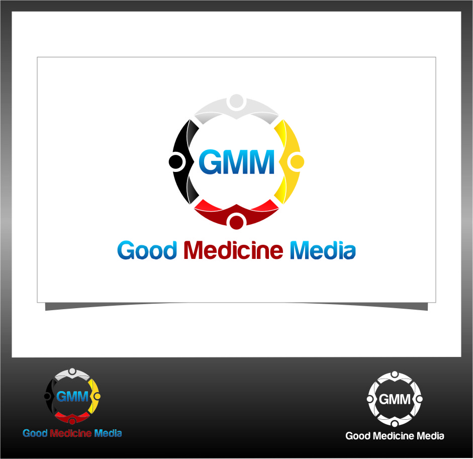 Logo Design by RoSyid Rono-Rene On Java - Entry No. 135 in the Logo Design Contest Good Medicine Media Logo Design.