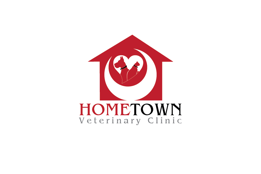 Logo Design by Private User - Entry No. 28 in the Logo Design Contest Captivating Logo Design for Hometown Veterinary Clinic.