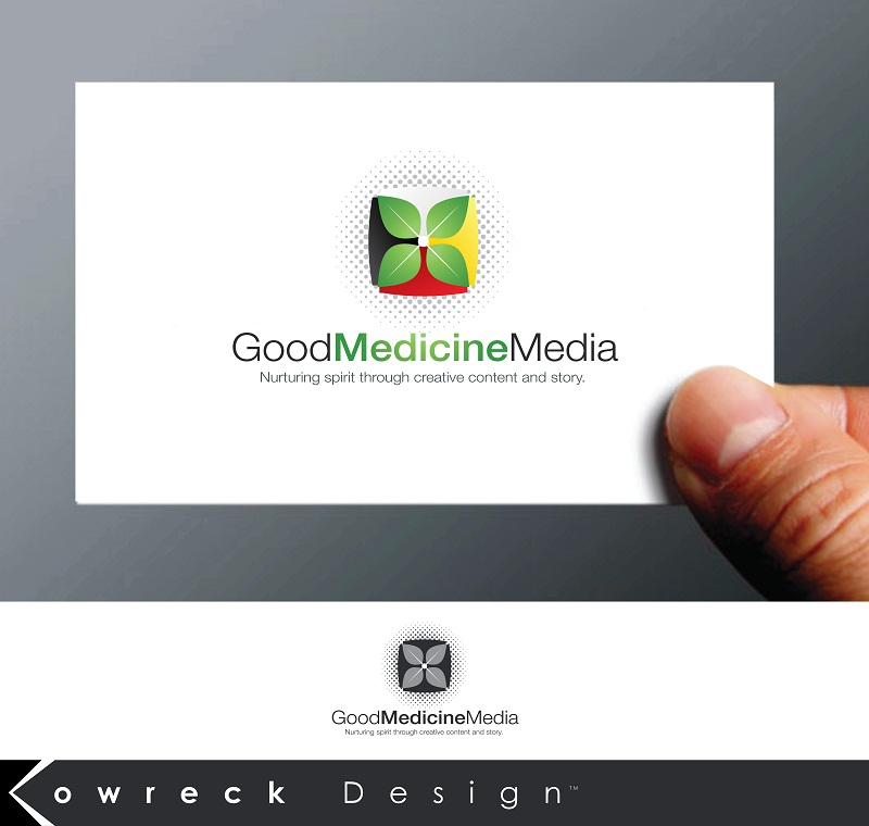 Logo Design by kowreck - Entry No. 136 in the Logo Design Contest Good Medicine Media Logo Design.