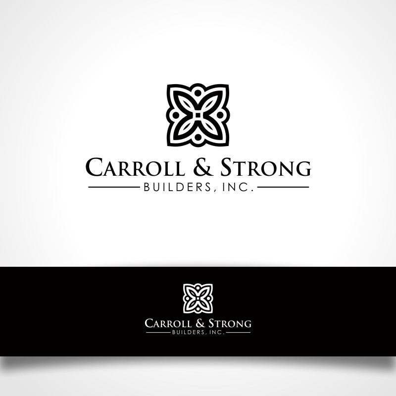 Logo Design by Private User - Entry No. 34 in the Logo Design Contest New Logo Design for Carroll & Strong Builders, Inc..