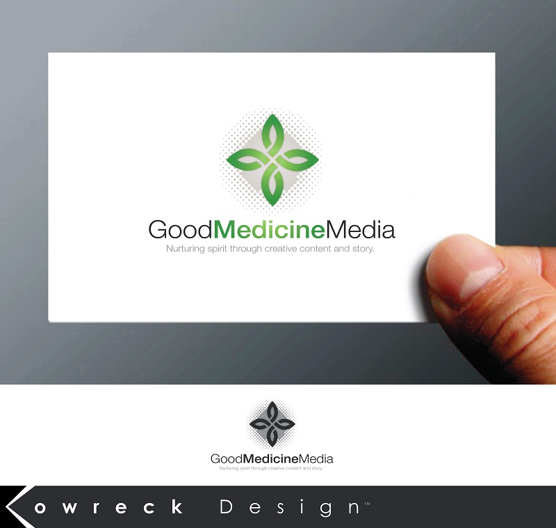 Logo Design by kowreck - Entry No. 138 in the Logo Design Contest Good Medicine Media Logo Design.