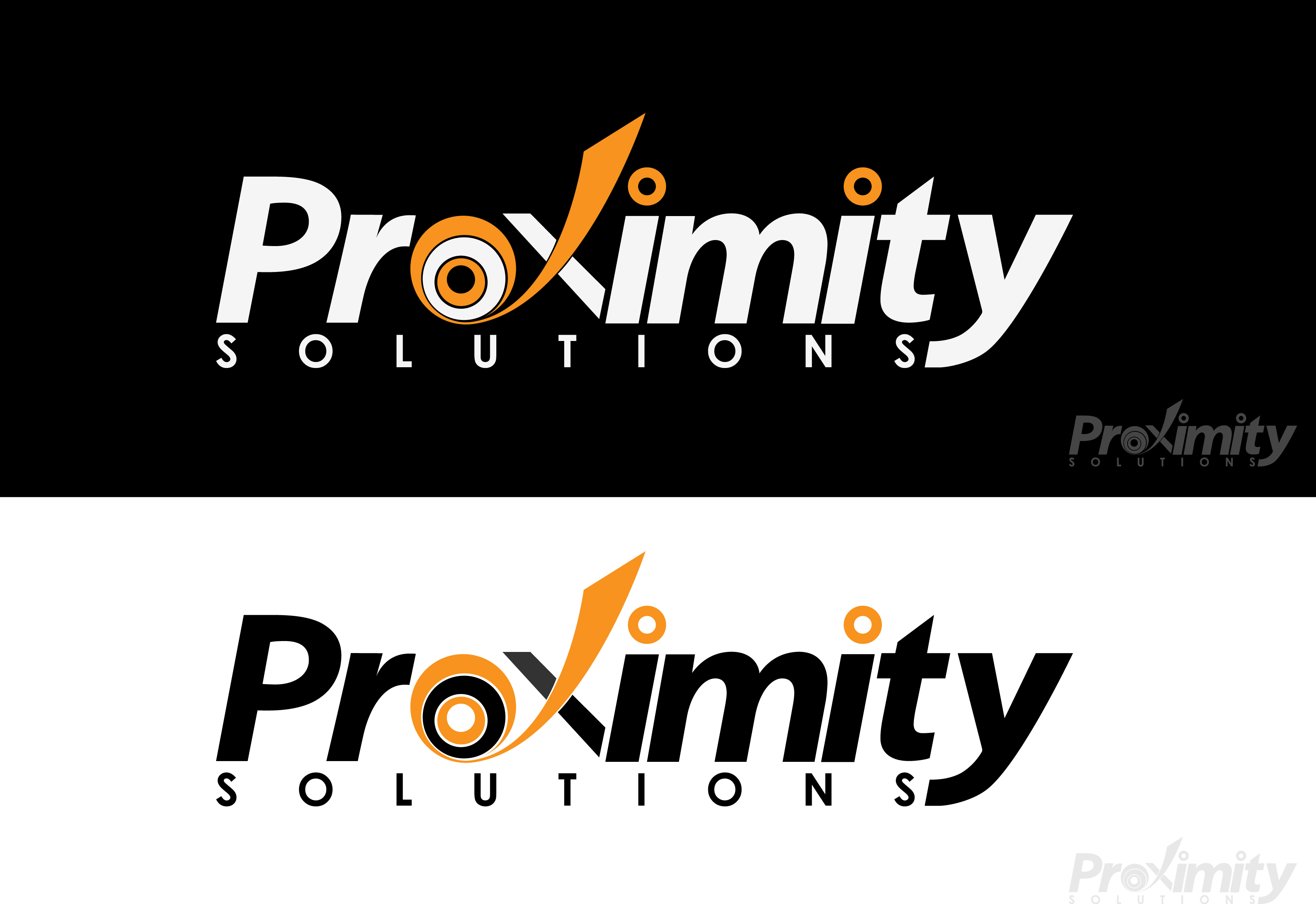 Logo Design by 3draw - Entry No. 112 in the Logo Design Contest New Logo Design for Proximity Solutions.