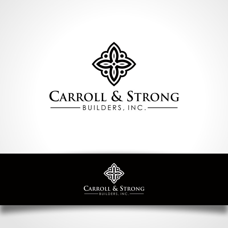 Logo Design by Private User - Entry No. 37 in the Logo Design Contest New Logo Design for Carroll & Strong Builders, Inc..
