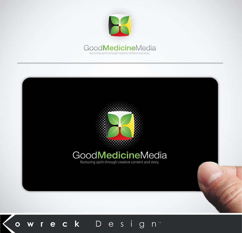 Logo Design by kowreck - Entry No. 139 in the Logo Design Contest Good Medicine Media Logo Design.