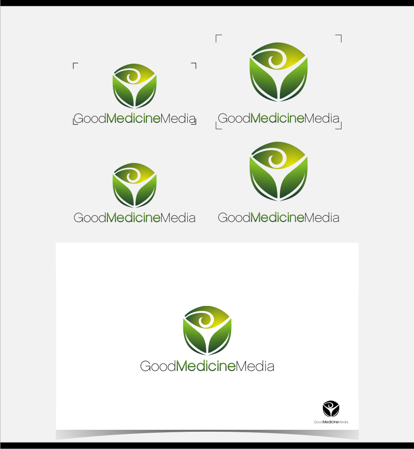 Logo Design by graphicleaf - Entry No. 140 in the Logo Design Contest Good Medicine Media Logo Design.