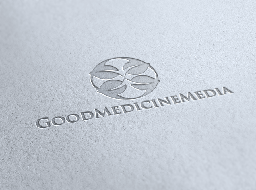 Logo Design by Luis Benayas - Entry No. 145 in the Logo Design Contest Good Medicine Media Logo Design.