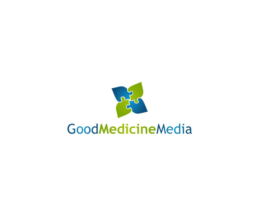 Logo Design by untung - Entry No. 146 in the Logo Design Contest Good Medicine Media Logo Design.