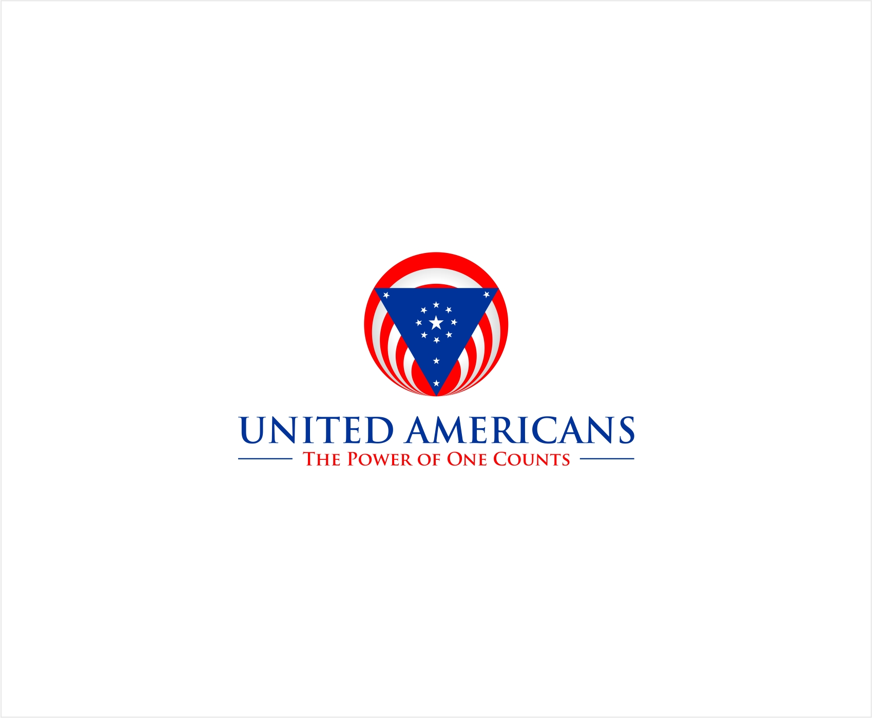 Logo Design by haidu - Entry No. 51 in the Logo Design Contest Creative Logo Design for United Americans.