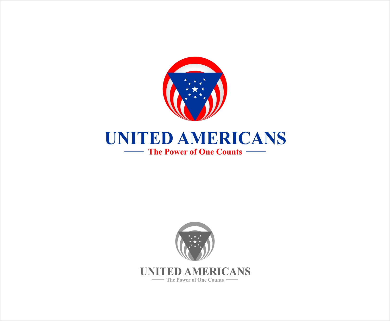Logo Design by haidu - Entry No. 52 in the Logo Design Contest Creative Logo Design for United Americans.