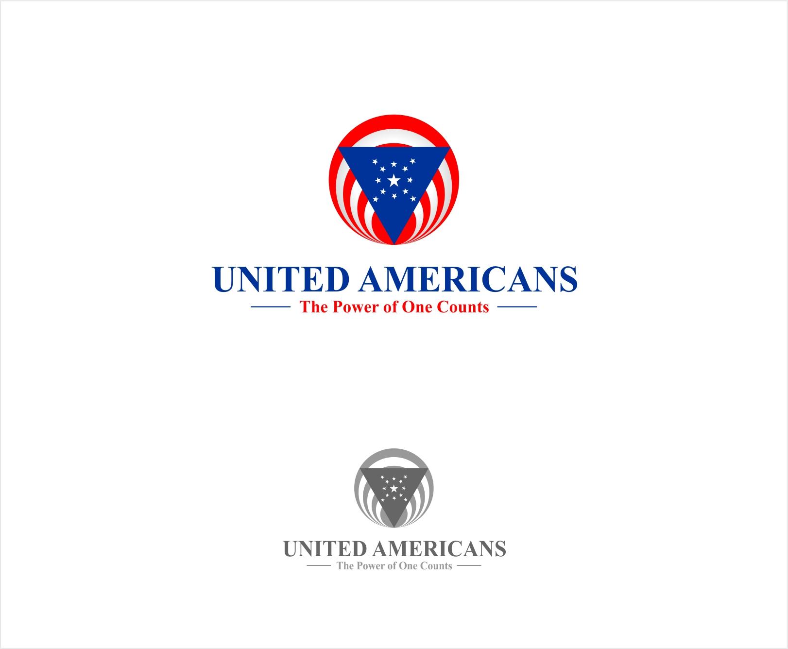 Logo Design by haidu - Entry No. 52 in the Logo Design Contest Creative Logo Design for United Americans.