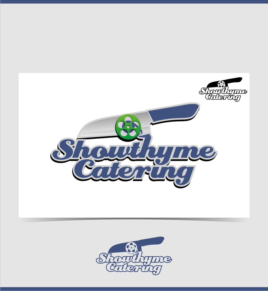 Logo Design by graphicleaf - Entry No. 15 in the Logo Design Contest Showthyme Catering Logo Design.