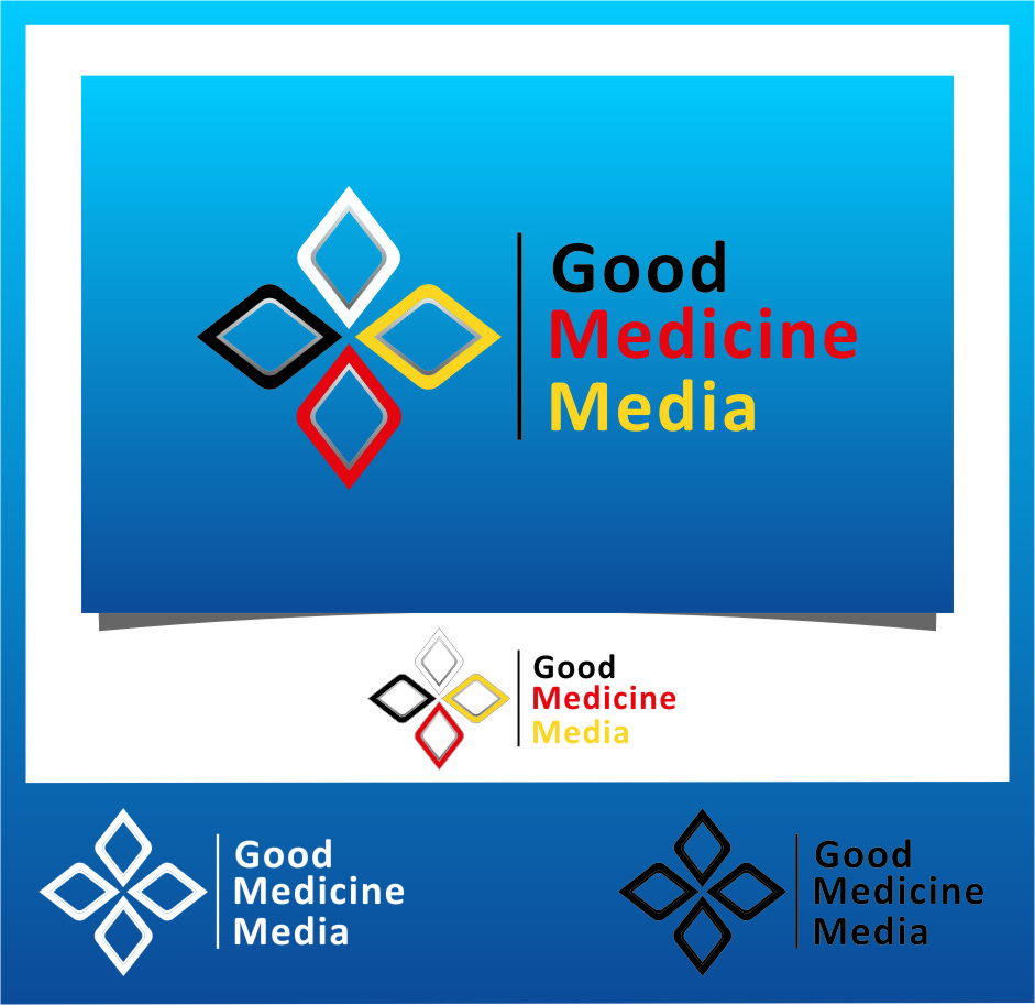 Logo Design by RasYa Muhammad Athaya - Entry No. 150 in the Logo Design Contest Good Medicine Media Logo Design.