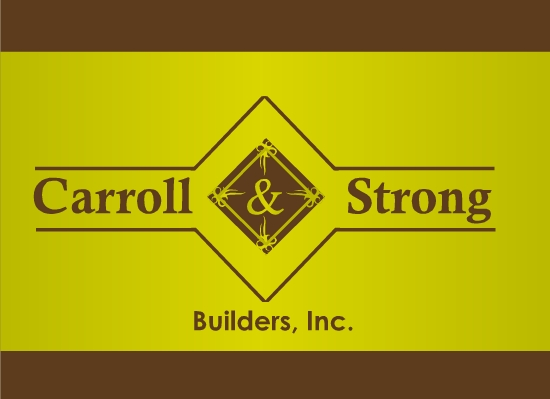 Logo Design by Ismail Adhi Wibowo - Entry No. 40 in the Logo Design Contest New Logo Design for Carroll & Strong Builders, Inc..