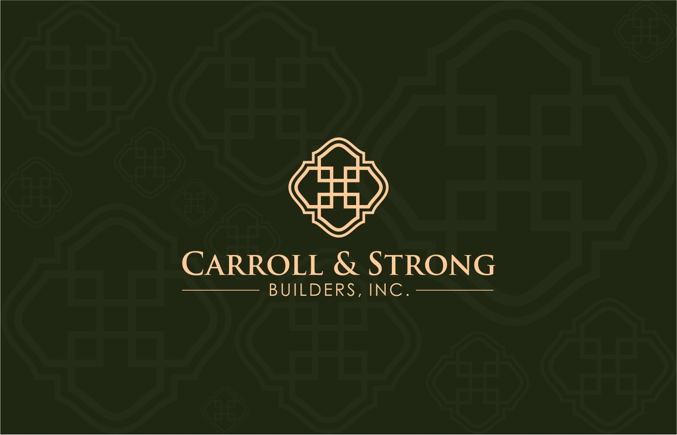 Logo Design by haidu - Entry No. 42 in the Logo Design Contest New Logo Design for Carroll & Strong Builders, Inc..