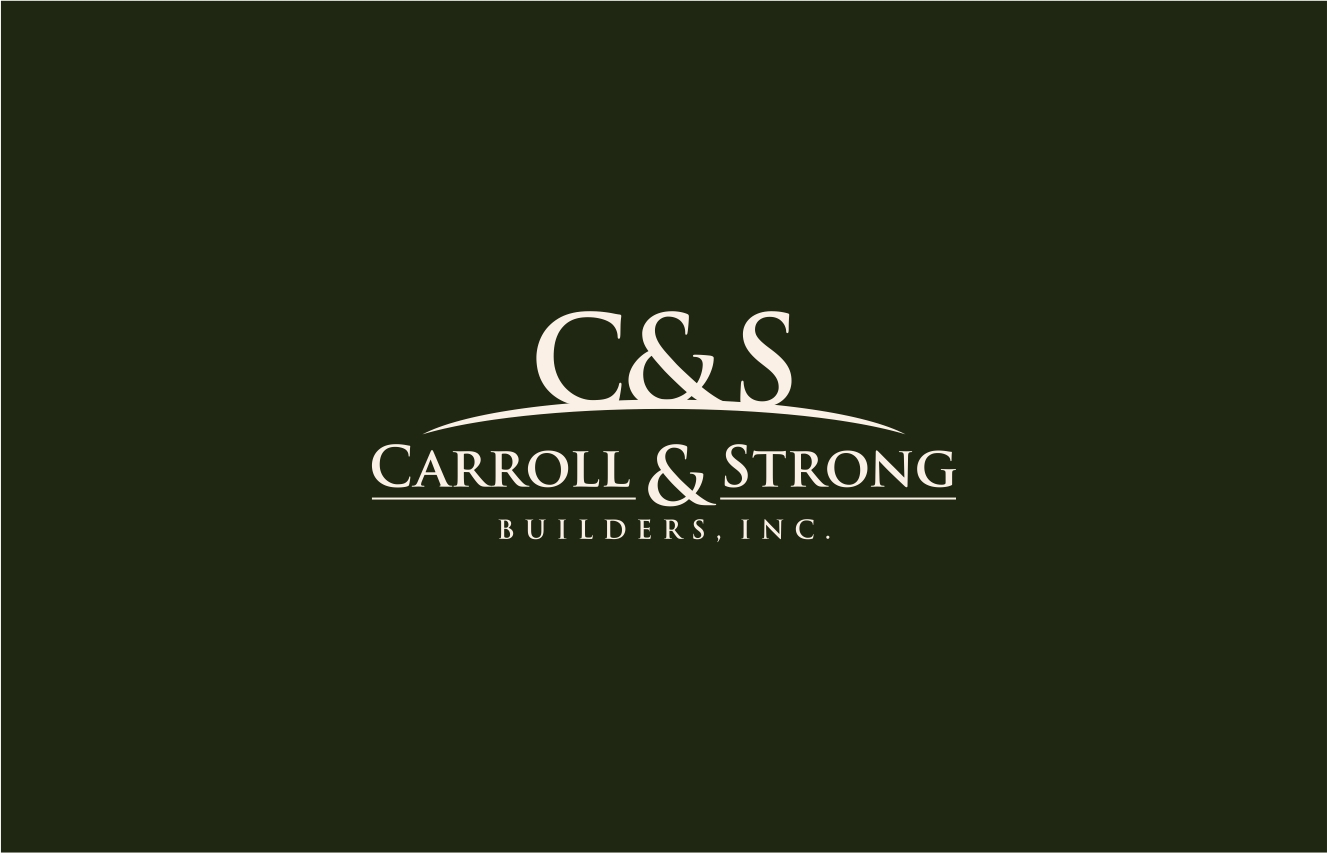 Logo Design by haidu - Entry No. 43 in the Logo Design Contest New Logo Design for Carroll & Strong Builders, Inc..