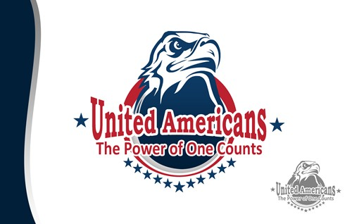 Logo Design by Respati Himawan - Entry No. 53 in the Logo Design Contest Creative Logo Design for United Americans.