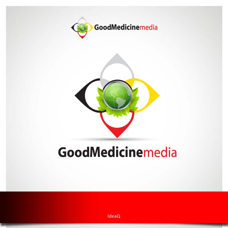 Logo Design by Private User - Entry No. 160 in the Logo Design Contest Good Medicine Media Logo Design.