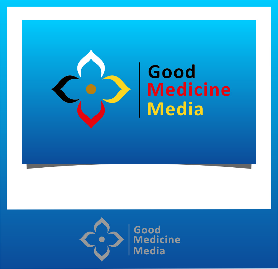 Logo Design by RasYa Muhammad Athaya - Entry No. 162 in the Logo Design Contest Good Medicine Media Logo Design.