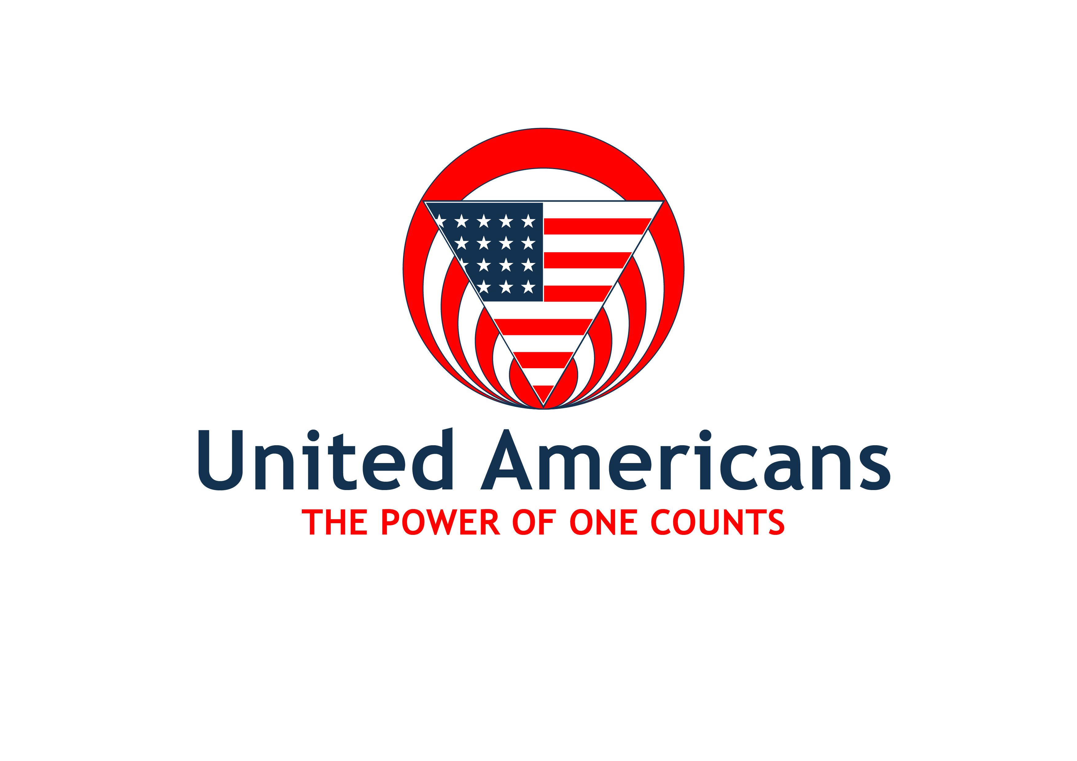 Logo Design by 3draw - Entry No. 54 in the Logo Design Contest Creative Logo Design for United Americans.